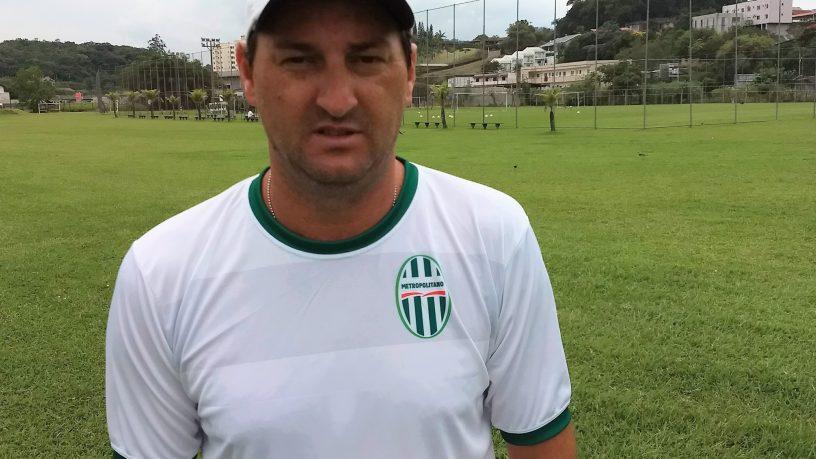 Rodrigo Cascca é o novo treinador do Metropolitano