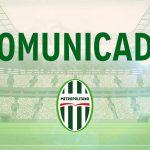 Credenciamento de imprensa para a partida entre Metropolitano e Camboriú