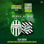 Confira os relacionados do Metropolitano para o confronto diante do Figueirense